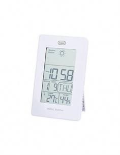TREVI ME 3104 Estacion Meteorologica Blanca Hora, Fecha, Temaperatura, Humedad, Hygrometro