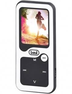 TREVI Reproductor MP4 Bluetooth MVP 1780 SB Blanco Con Tarjeta Micro SD 8GB Podometro, Cronometro