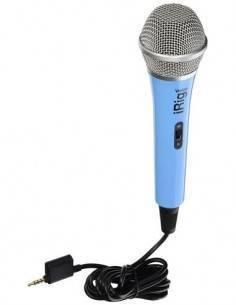IK MULTIMEDIA iRiG Voice Microfono de Mano Azul Para Iphone, Ipod Touch, Ipad - Para Grabar Directo