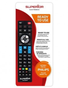 SUPERIOR Mando Distancia Televisor Smart TV Para Philips