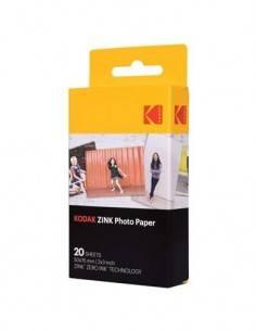 KODAK Papel Fotografico 20 Hojas Zink Zero Ink 50x76mm