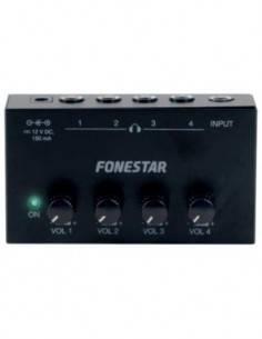 FONESTAR Amplificador/Distribuidor de Auriculares FDA-4A