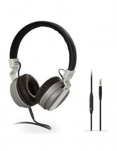 FONESTAR Auricular Estereo de Casco Para TV Phones-62 5Mtrs de Cable