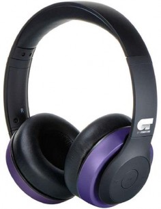 FONESTAR Auricular De Casco Inalambrico Bluetooth/Aux HARMONY Purpura