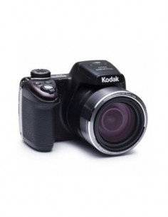 KODAK PIXPRO AZ527 Camara de Fotos Digital Negra 52X Zoom, 24mm, 20Mpx, Full Hd, Wifi