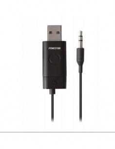 FONESTAR Transmisor BTX-3011 de Audio Bluetooth Con Clavija Jack 3.5mm