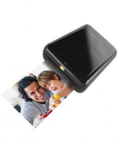 POLAROID ZIP Zink Impresora de Bolsillo Para ANDROID/IPHONE Negra Bluetooth,Nfc
