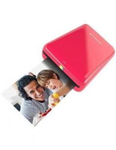 POLAROID ZIP Zink Impresora de Bolsillo Para ANDROID/IPHONE Roja Bluetooth, Nfc