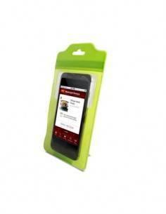 "KSIX Funda Tableta Universal 8"" Verde Resistente al Agua, con Soporte"