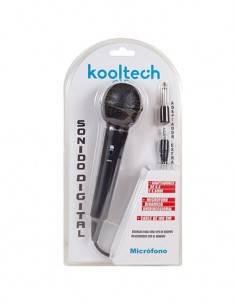 KOOLTECH Microfono Dinamico Con Cable 1.8Mtrs Con 2 Adaptadores