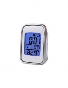 TIMEMARK Reloj Despertador Digital CL99 Con Calendario/Temperatura
