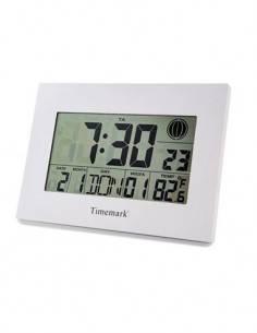 TIMEMARK SL-500 Reloj Despertador Digital Con Temperatura, Fase Lunar