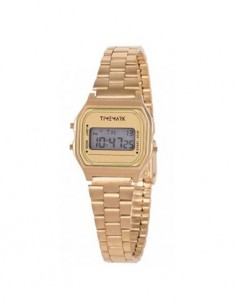 TIMEMARK TM1130 Reloj Digital / Cronometro/Alarma Dorado Pequeño