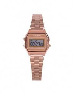 TIMEMARK TM1132 Reloj Digital / Cronometro/Alarma Oro Rosa Pequeño