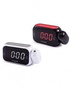 TIMEMARK Radio Reloj Despertador Digital CL516 Con Proyeccion en Techo