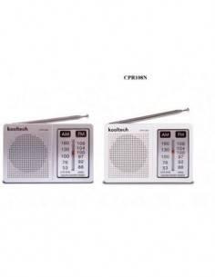 KOOLTECH Radio Portatil AM/FM CPRI08N
