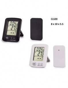 TIMEMARK CL520 Termometro Digital Con Sensor Int. y Ext Con Reloj