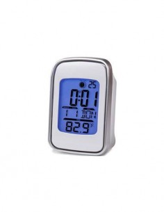 TIMEMARK Reloj Despertador Digital CL99L Con Temperatura negro