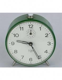 TIMEMARK Reloj Despertador Vintage CL-TITAN Con Fecha Negro