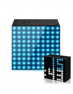 DIVOOM Altavoz Portatil Bluetooth AURA BOX Luces Led/Creacion de Animacion/Notificaciones/Manos Libr