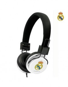 Auricular Estereo De Casco REAL MADRID Cable 1.2Mtrs Jack 3.5mm
