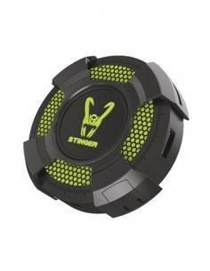WOXTER STINGER Gaming Hub 4 Puertos Usb Verde Con Luz Led 5 Colores Cable Nylon