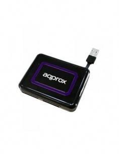 AQPROX Lector Tarjeta Multiple + DNI + SIM appCRDNIB