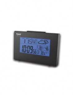 SAMI LD-1113 Estacion Barometrica con Sensor, Hora, Calendario, Temperatura Interior Exterior, Humed