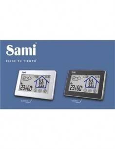 SAMI LD-1115 Estacion Barometrica con Sensor Exterior Hora, Calendario, Temperatura Interior Exterio