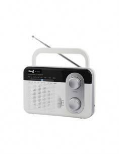 SAMI Radio AM-FM XL RS12101 Con Asa Negro/Plateado