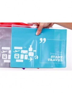 HELIO FERRETTI 120765 Dream Travel Bag Estuche Documentos para Viaje PVC Surtido Colores