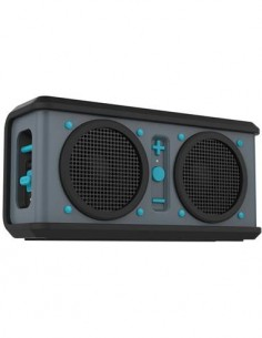 SKULLCANDY AIR RAID Altavoz Portatil Bluetooth, Resistente Al Agua/Golpes 5W Negro/Azul