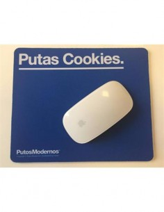 "Alfombrilla PC ""PUTAS COOKIES"" PM0657 Azul"