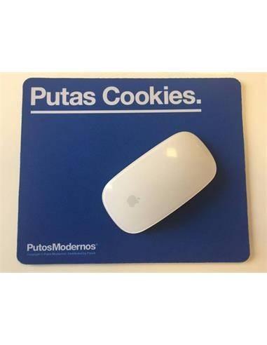 """Alfombrilla PC """"PUTAS COOKIES"""" PM0657 Azul"""