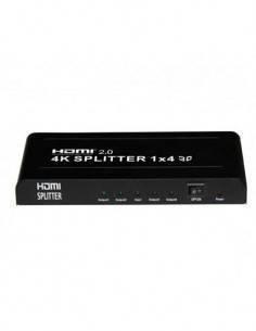 SURMEDIA DIVI4 Splitter HDMI 1 Entrada- 4 Salidas