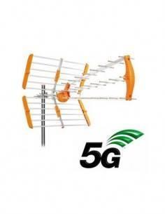 SURMEDIA Antena UHF Triplex Digital HD Con Filtro 5G CH21-48 SMT85G