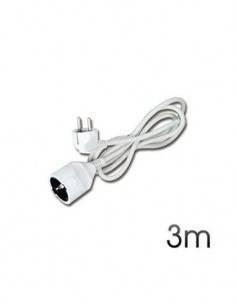 ELBAT Cable Extensor Corriente Schuko 3Mtrs