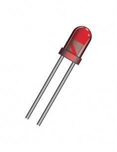 DIL3R Diodo Led Rojo 3mm