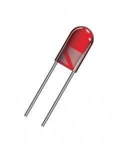 DIL5R Diodo Led Rojo 5mm