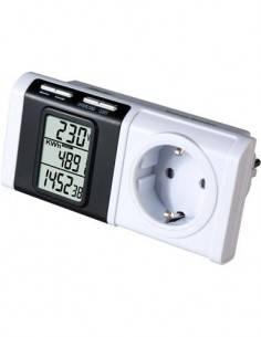 ALECTO Monitor De Consumo Electrico Con Enchufe  EM-16