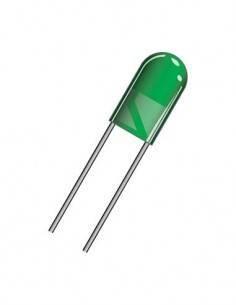 DIL5V Diodo Led Verde 5mm