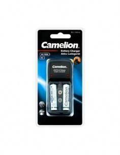 CAMELION Cargador de Pilas AA/AAA/9V  Ni-Mh Recargable BC-1001A Con 2X Pilas AAA 100-240V
