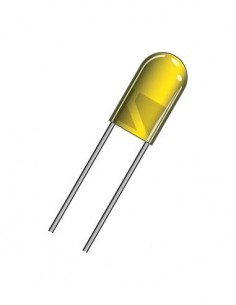 DIL5A Diodo Led Amarillo 5mm