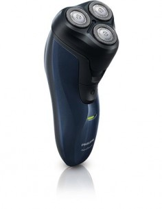 PHILIPS Afeitadora de Barba Aqua Touch AT620 Con Cortapatilla Recargable, Seco/Mojado