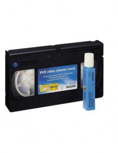 PHILIPS Cinta Limpiadora Video VHS