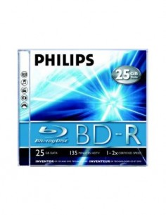 PHILIPS BLU-RAY DISK BD-R 25GB DATA/135Mins HDTV