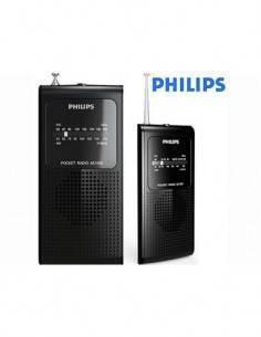 PHILIPS AE1500 Radio Portatil FM/MW Negra