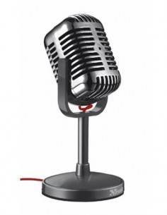 TRUST ELVII Microfono Vintage Para PC Con Cable 1.8Mtrs