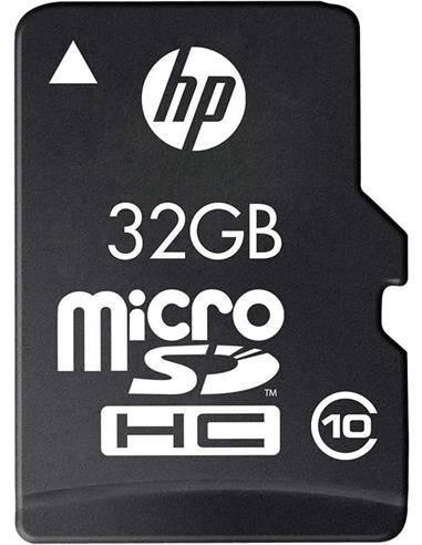 HP Tarjeta Memoria Micro SD 32Gb Con Adaptador HC I