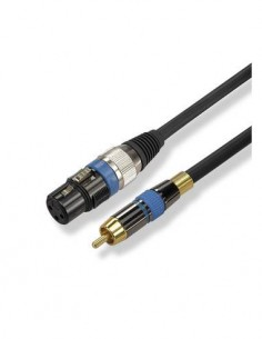 EDC 02-0470 Cable Canon/H - RCA/M 2 mtrs